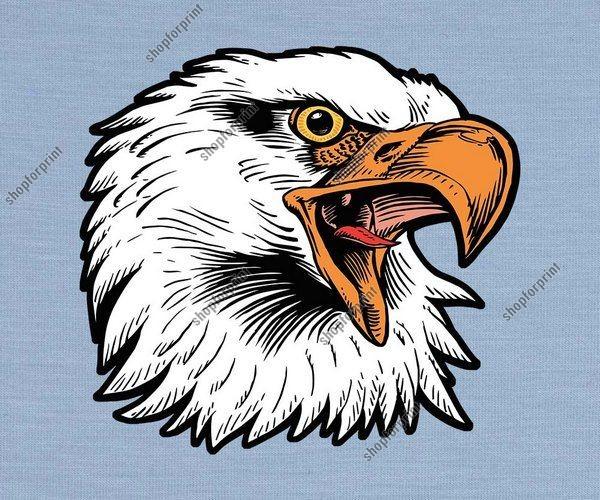 eagle head vector format eps ai svg