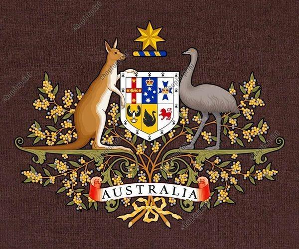 Australian Coat of Arms Vector