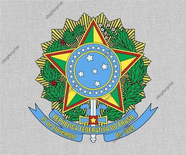 Brazil Coat of Arms in Vector