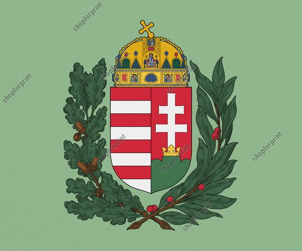 Hungarian Crests in Vector Formats. Five Several Images.