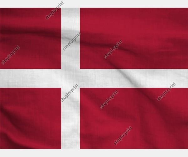 Denmark National Flag (Two Images)