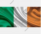 Irish Tricolour Flag Vector Set (4 Images)