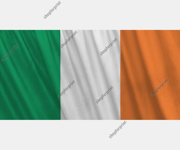 The Flag of Ireland Vector Set (4 Images)