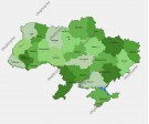 Ukraine Map Vector - Several Images