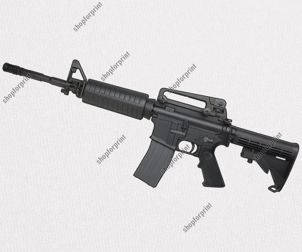 Colt M4 Carbine Vector Image