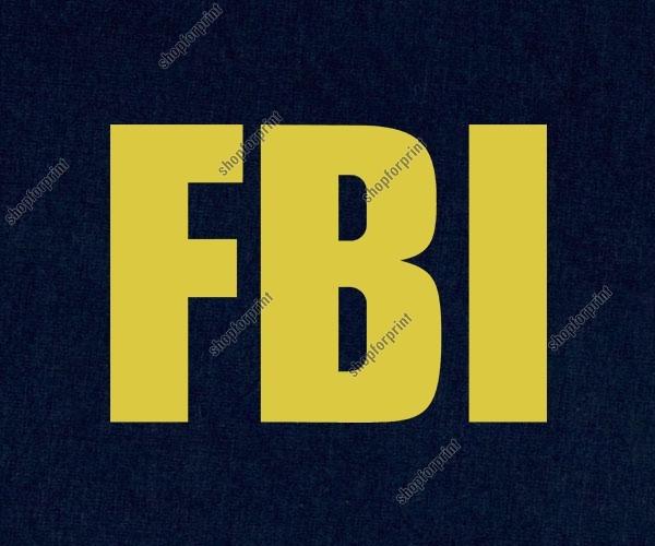 FBI Free Sign
