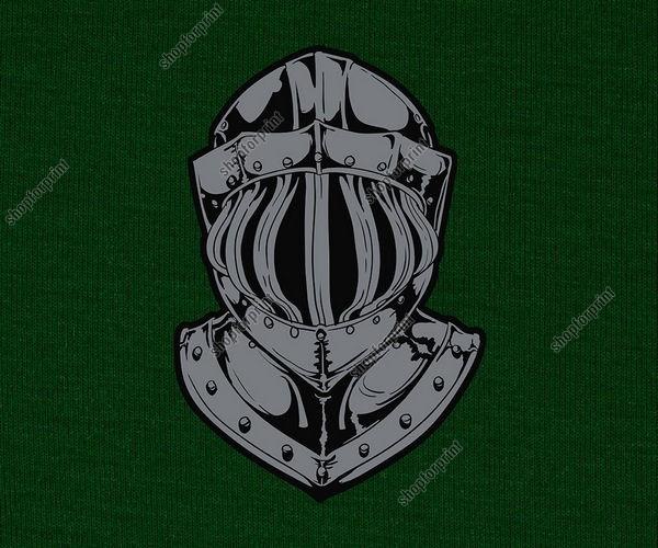 Knight Helmet in Vector