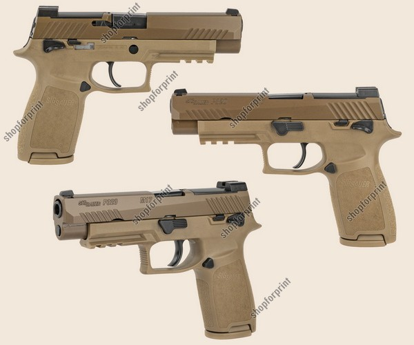 Sig Sauer P320 M17 Coyote Brown Handgun