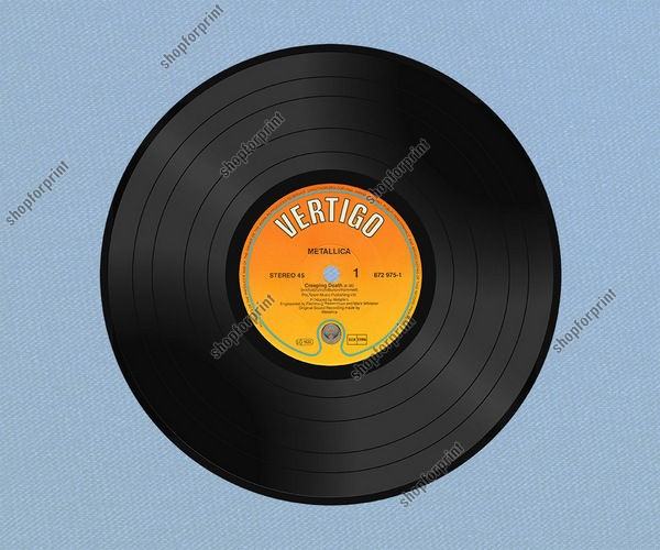 Vinyl Record in Vector (Set)