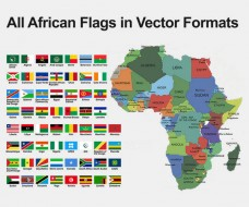 All Flags of African Countries