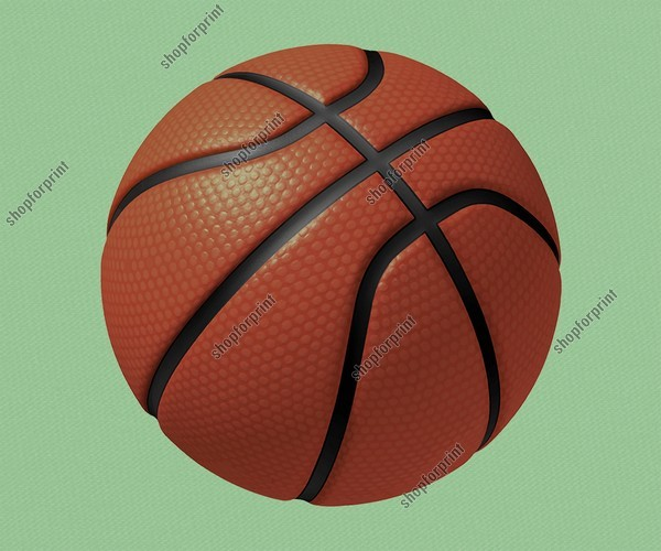 Basketball Ball Vector. Two Images.