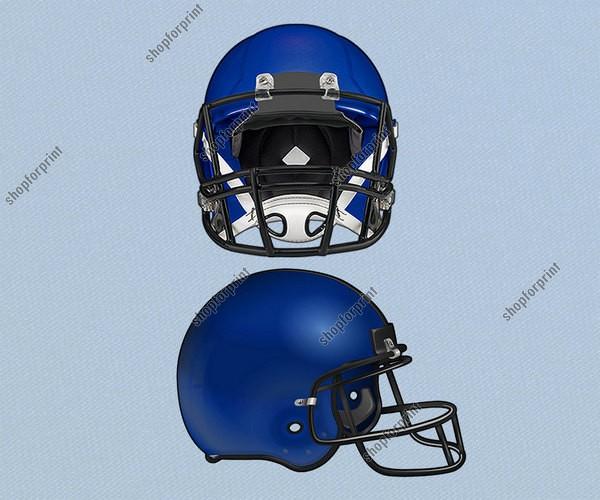 American Football Helmet In Ai Eps Svg Vector Formats