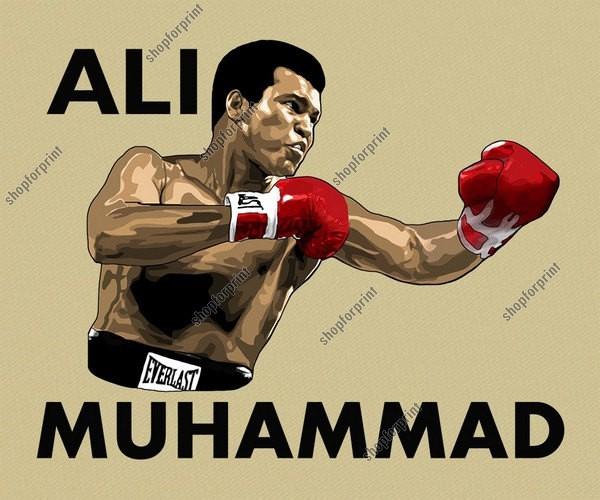 Muhammad Ali Vector