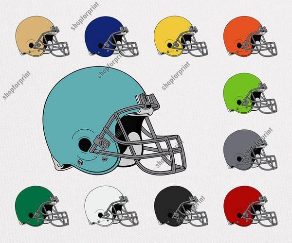 Rugby Helmet Vector Pack (11 Files)