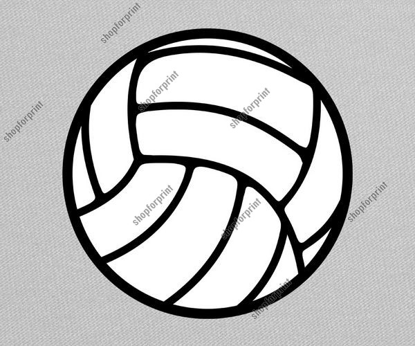 Volleyball Ball Vector Free