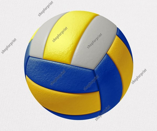 Volleyball Ball Vector (Pack - 3 Images)