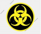 Biohazard Vector. Five images.