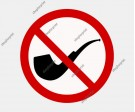 No Smoking Sign Vector Set. Six Images.