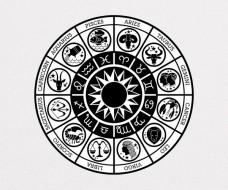 Zodiac Circle Vector