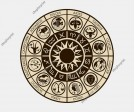 Zodiac Circle Vector. (Five Images)